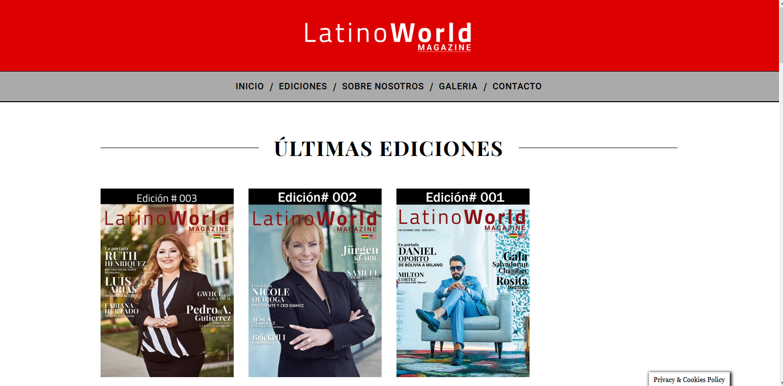 Latino World Magazine